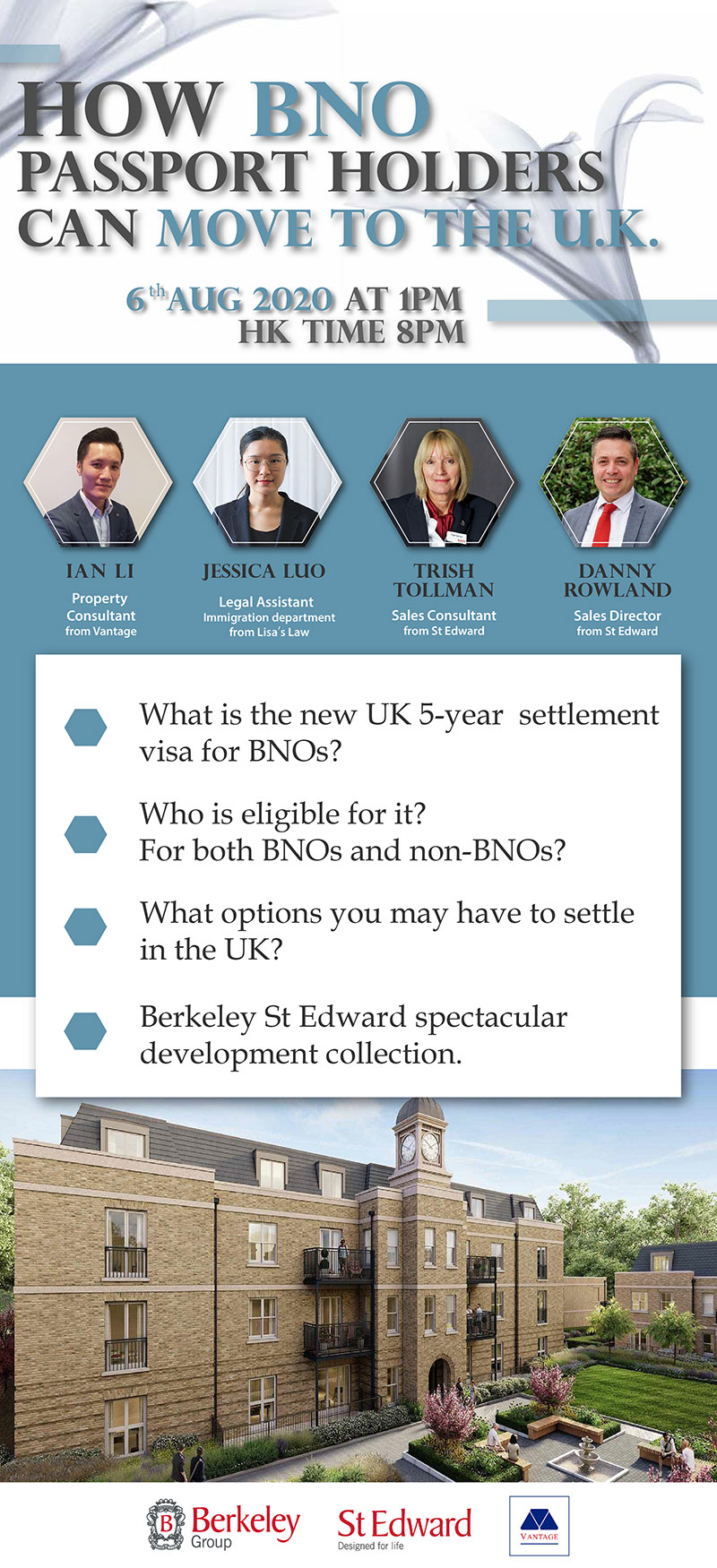 How BNO holders are able to move to the U.K